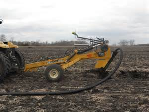 2016 soil max gold digger stealth pull type tile plow ditcher hewitt drainage equipment le sueur