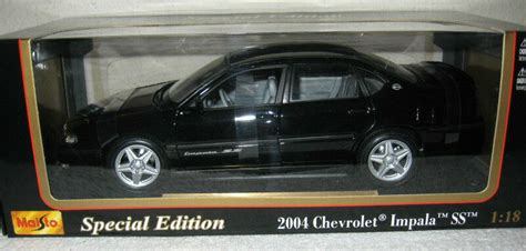 how do i learn about cars 2004 chevrolet classic interior lighting 2004 chevrolet impala ss black 1 18 scale diecast model maisto arts collectibles calgary