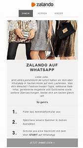 Zalando Newsletter Anmelden : zalando verschickt newsletter ber whatsapp ~ Orissabook.com Haus und Dekorationen
