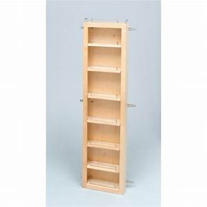 Rev a shelf 4wdp18 45 45in pantry door unit only for Pantry door shelving unit