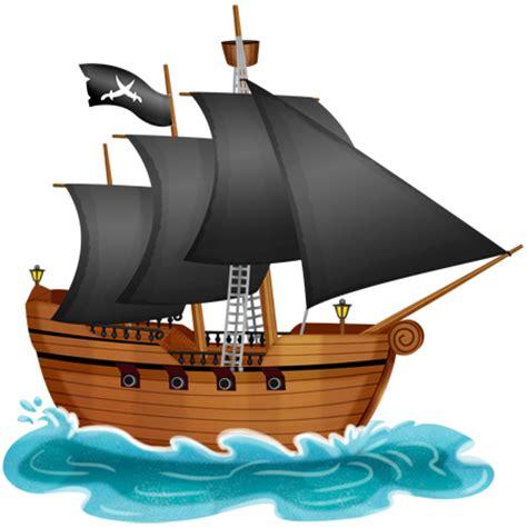 bureau enfants but stickers bateau pirate aux voiles noires stickers malin