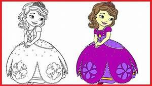 Princess Sofia Coloring Pages Sofia Colouring Book