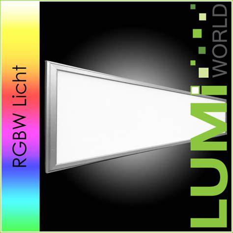 Led Licht Panel by Led Panel Rechteck Mit Rgbw Licht Zum Dimmen Lumiworld