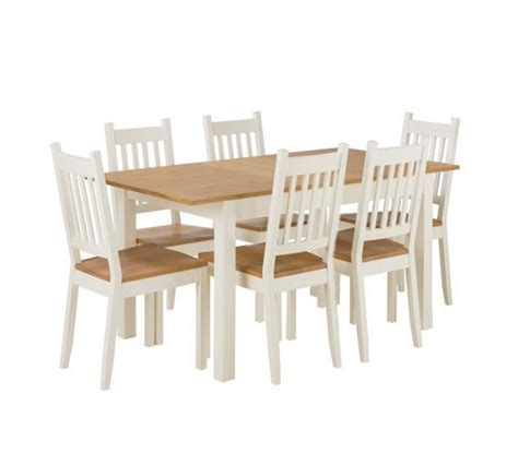 Buy Dining Table Chairs by Buy Home Of Style Tiverton Dining Table With 6 Chairs At