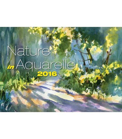 wall calendar nature aquarelle