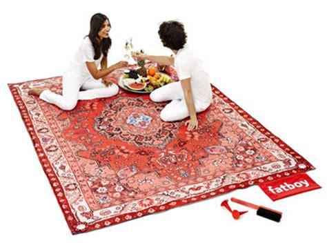 tapis d eveil picwic tapis d ext 233 rieur picnic lounge 280 x 210 cm tons rouges fatboy