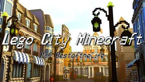 map ville lego city minecraft minecraft aventure