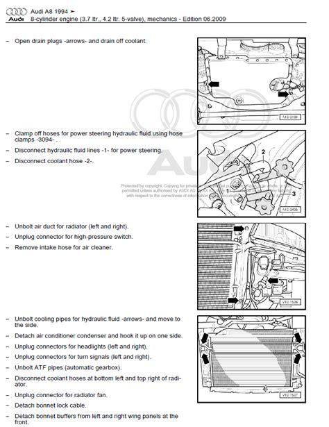 audi    repair manual factory manual