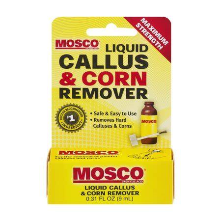 mosco liquid callus corn remover walmartcom