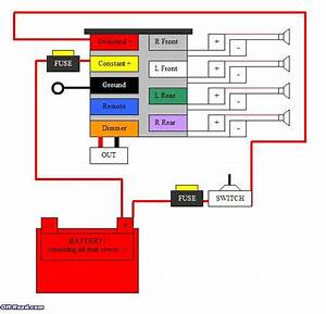 Image Of Wiring Diagram Car Radio Car Sound System Diagram