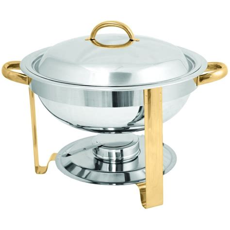 round stainless steel chafer qt commercial chafing