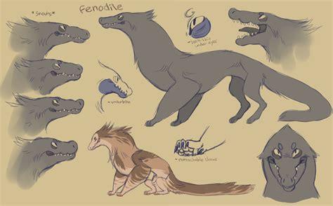 fenodile open species  art included  babezord