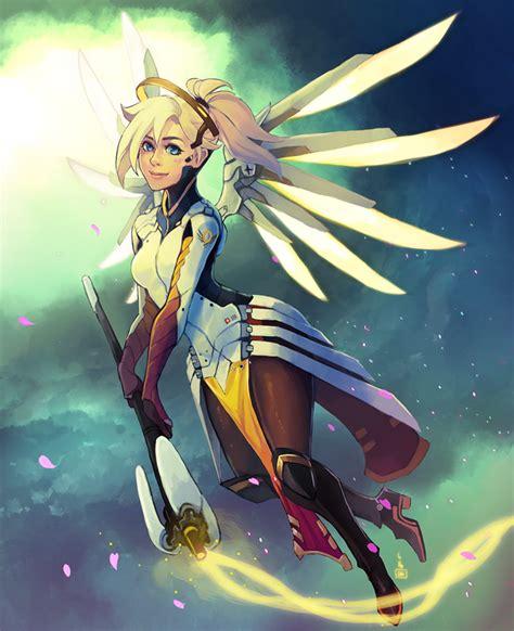 Mercy  Overwatch By Renuski On Deviantart