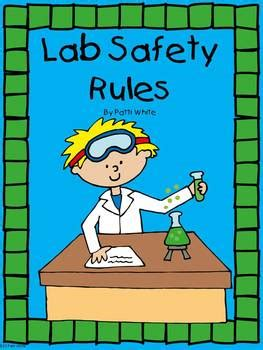 lab safety rules  elementary students   series