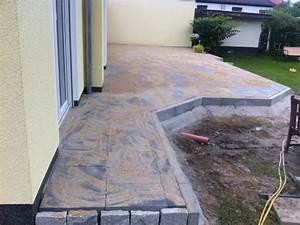Betonplatten Verlegen Auf Erde : garten terrasse anlegen alle kosten fotos infos zum terrassenbau hausbau blog ~ Whattoseeinmadrid.com Haus und Dekorationen