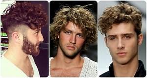 Coiffure Homme Cheveux Bouclés : coiffure homme les tendances 2017 2018 coiffure ~ Melissatoandfro.com Idées de Décoration