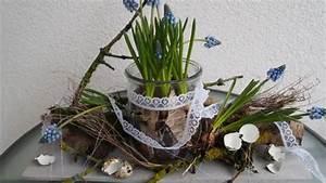 Blumenzwiebeln Im Glas : osterdeko im glas frische ideen f r das osterfest sat 1 ~ Markanthonyermac.com Haus und Dekorationen