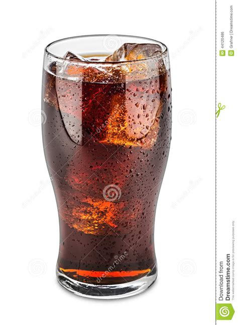 Mit Cola by Glass Of Cola Stock Photo Image Of Cube Studio