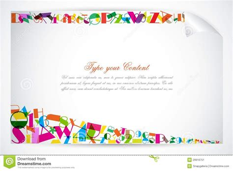 Colorful Education Background Stock Vector
