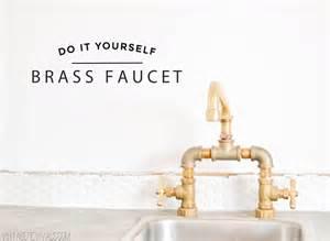 diy kitchen faucet diy brass bridge faucet vintage revivals