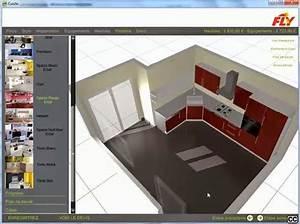 Cuisine En Ligne : dessiner sa cuisine en 3d gratuitement ~ Melissatoandfro.com Idées de Décoration