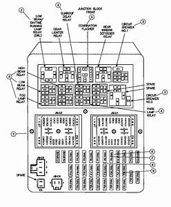 Dodge Stratus Breaker  Circuit  Power Seat  Power Window