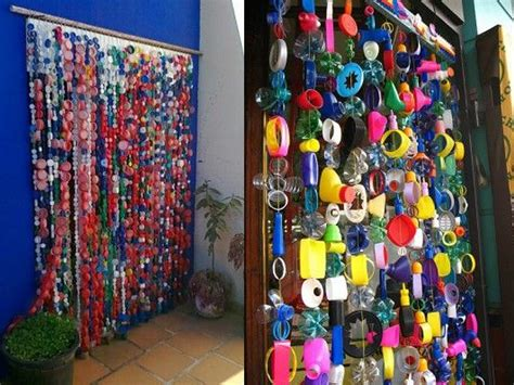 como hacer cortinas con botellas de plastico 12 ideas para la decoraci 243 n con tapones de pl