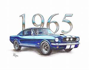 Image Gallery old mustang drawing
