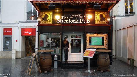 fumoir cuisine sherlock pub izzi design côté maison