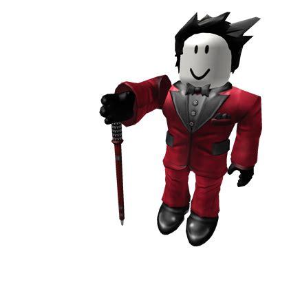rockin red suit roblox wikia fandom powered  wikia