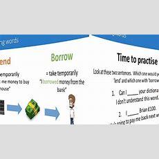 Cambridge School Confusing Words  'borrow' Vs 'lend' Youtube