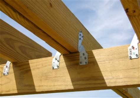 Ceiling Joist Hangers by How To Build A Backyard Play Structure Fort How Did I