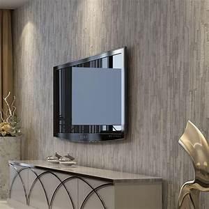 Modern 3d Grey Wallpapers Home Decor Soild Color Wall