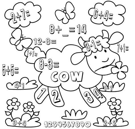 Coloring Kindergarten Math by Kindergarten Math Worksheets Best Coloring Pages For