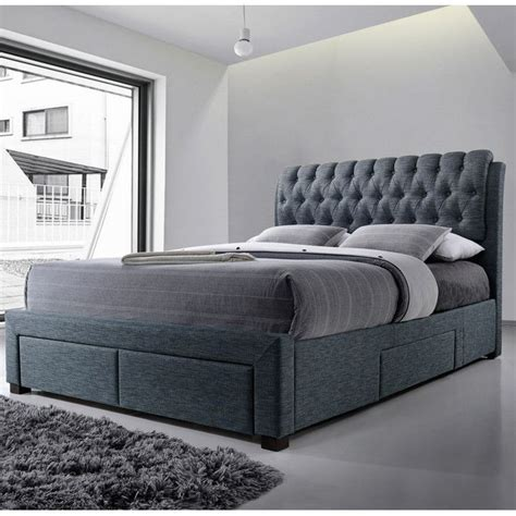 Upholstered Bed Frame With Storage by You Ll The Belerda Upholstered Storage Bed Frame At