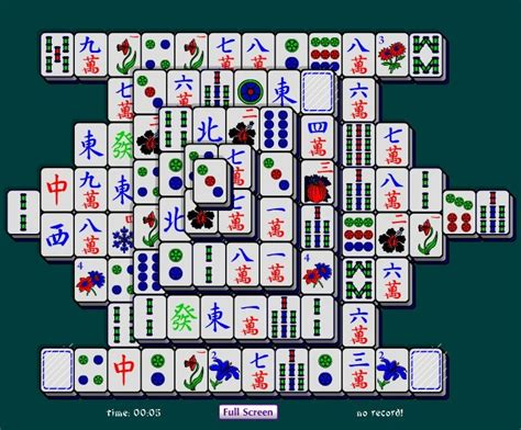 Mahjong Solitaire Tiles by Mahjong Software Triangle Mahjong