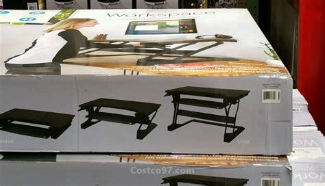 costco height adjustable desk erogtron home workspace adjustable height desk costco97 com