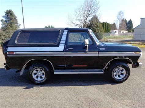 custom ford ranger 4x4 find used 1979 ford bronco ranger custom 4x4 f150 1978 1977 1976 1980 1981 1977 1976 1975 in