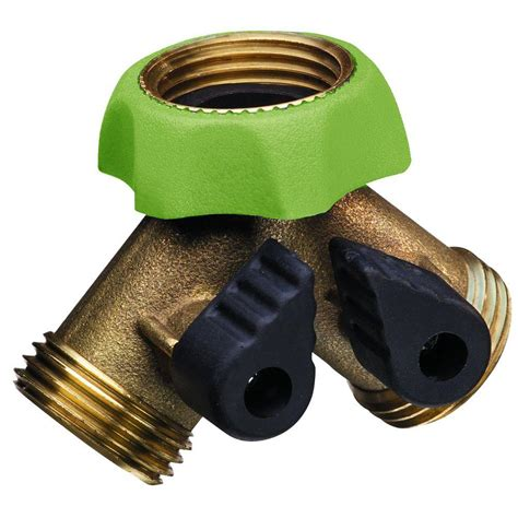 faucet hose adapter padula pro series deluxe brass hose adapter faucet y