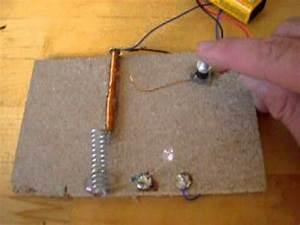 Selber Strom Erzeugen : magnet schalter f r eine 4 5 volt led video 2 youtube ~ Frokenaadalensverden.com Haus und Dekorationen