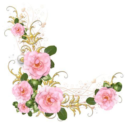 5 png (1545×1600) Marcos con flores Flores vintage png