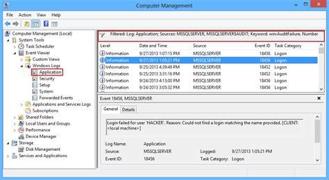 Audit failed SQL Server logins - Part 2 - using native