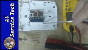 Standard Heat Only Thermostat Wiring Diagram