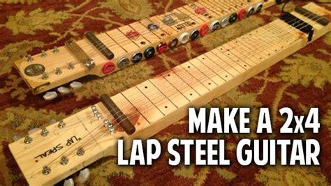 lap steel guitar diy  materials   garage   makers