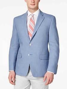 Mens Light Blue Sport Coat Men 39 S Solid 2 Button Linen Light Blue Classic