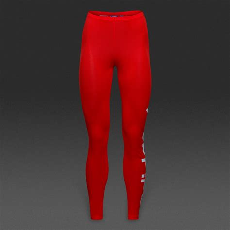 girls clothing adidas originals leggings core red