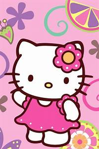 iPhone Wallpaper Hello Kitty - WallpaperSafari