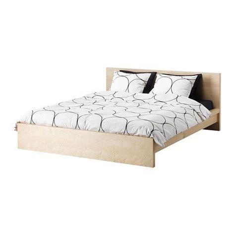 malm bed frame birch veneer full    graduate