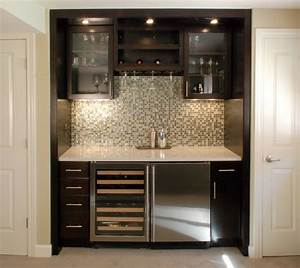 Wet Bar - Contemporary - Family Room - detroit - by