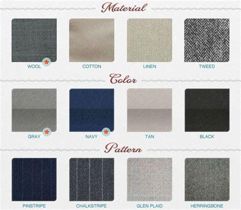 fabric types education sartoriale la folie des infographies different types different types of and colors